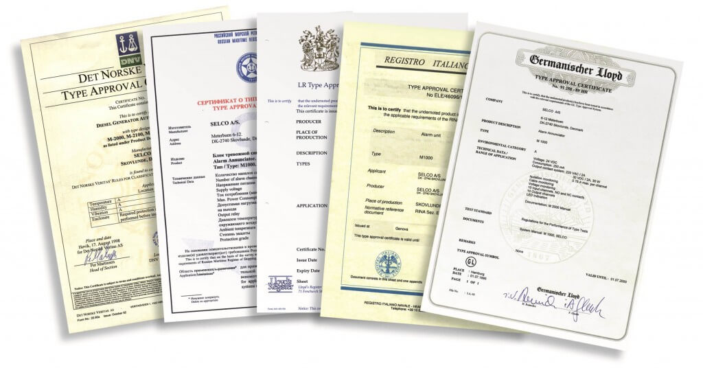 selco-certificates