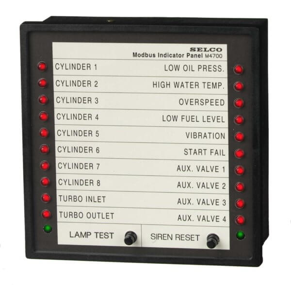 Alarm Indicator panel M4780 with MODBUS
