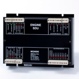 Shut-down unit M2600 engine controller