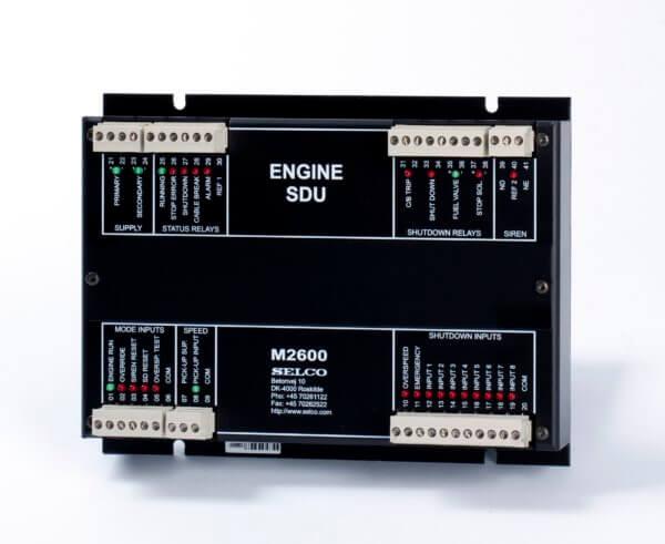 Shut-down unit M2600 engine controller