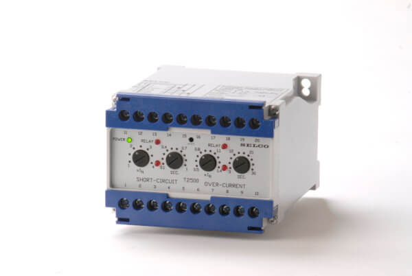 Overcurrent & Short Circuit Relay T2500