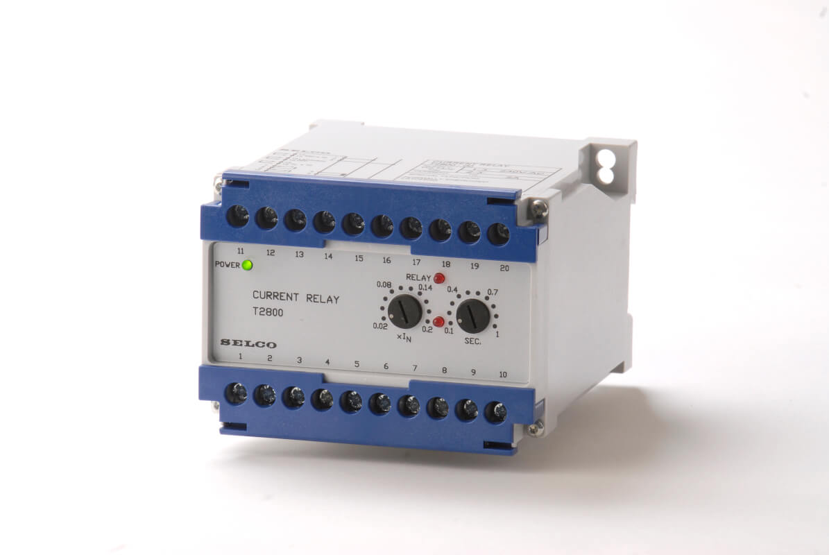 Protection And Control Relays Selco Relay Switch Earth Overcurrent Or Fault T2800