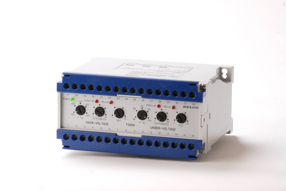 Voltage Relay (3-Phase) T3300 | SELCO